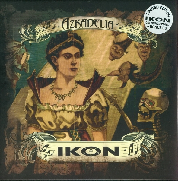 "IKON Azkadelia CD+7"" GREEN VINYL LTD.300"