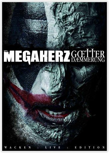 MEGAHERZ Götterdämmerung - Live At Wacken 2012 DVD+CD Digipack Deluxe Edition (VÖ 16.11)