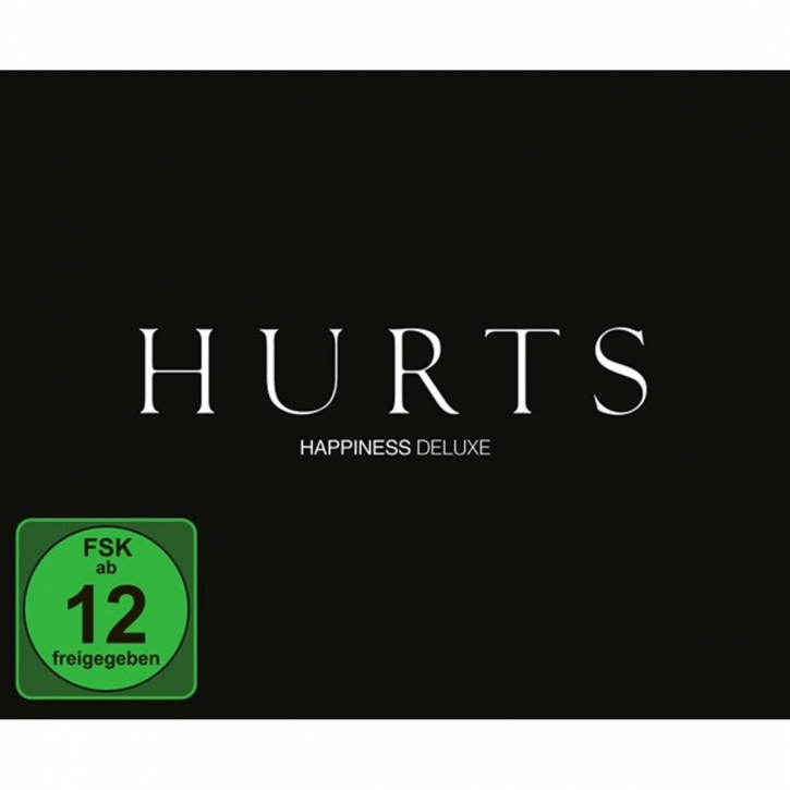 HURTS Happiness (Limited Deluxe Edition) CD+DVD Digipack 2011