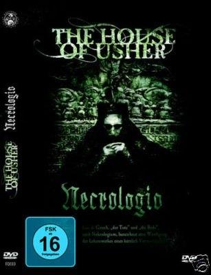 THE HOUSE OF USHER Necrologio DVD 2010