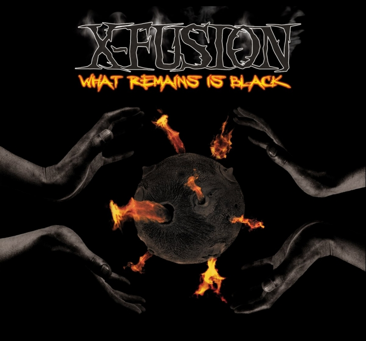 X-FUSION What Remains Is Black CD Digipack 2013