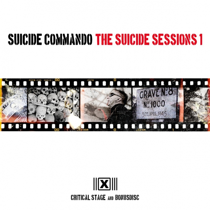 SUICIDE COMMANDO The Suicide Sessions 1 (US Edition) 2CD 2013