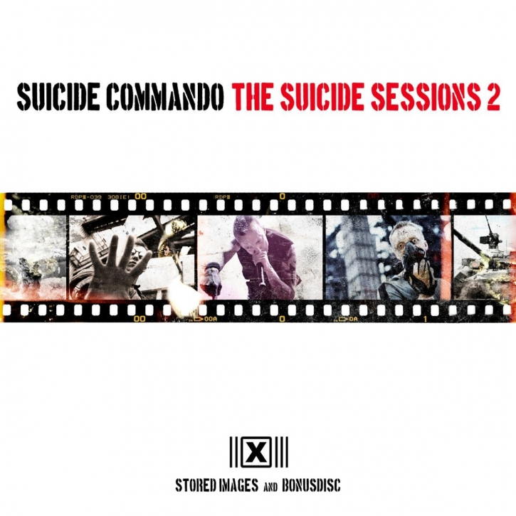 SUICIDE COMMANDO The Suicide Sessions 2 (US Edition) 2CD 2013