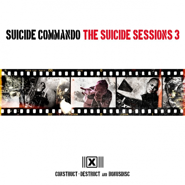 SUICIDE COMMANDO The Suicide Sessions 3 (US Edition) 2CD 2013