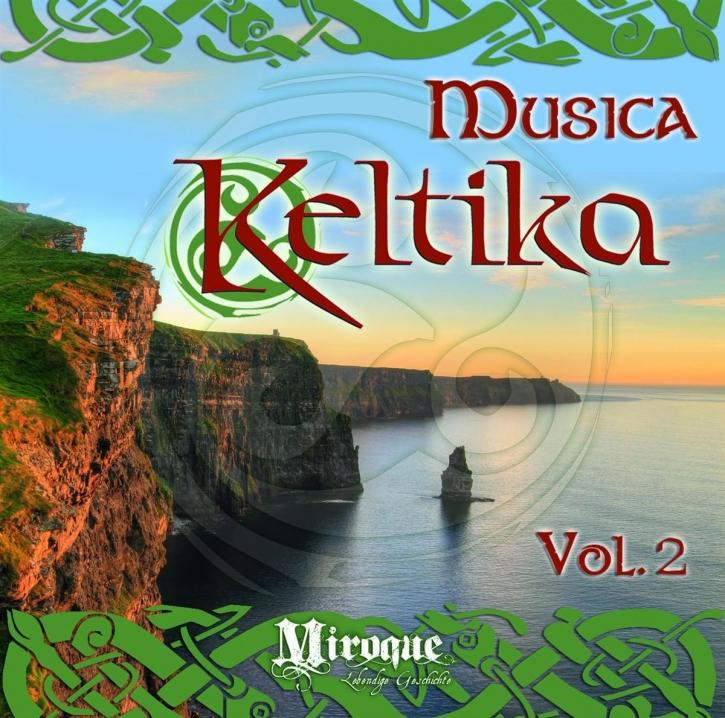 MUSICA KELTIKA VOL.2 CD 2013 OMNIA Fiddler's Green THE SANDSACKS