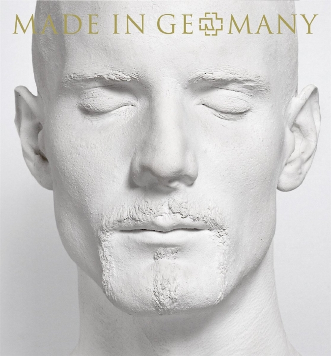RAMMSTEIN Made In Germany 1995 - 2011 Import CD (Cover Oliver)