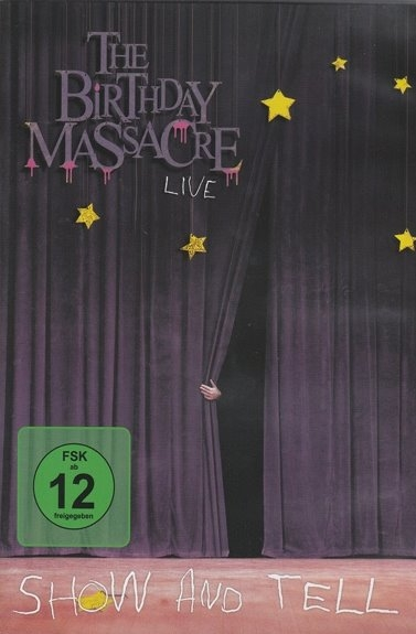THE BIRTHDAY MASSACRE Show And Tell - Live In Hamburg DVD 2009