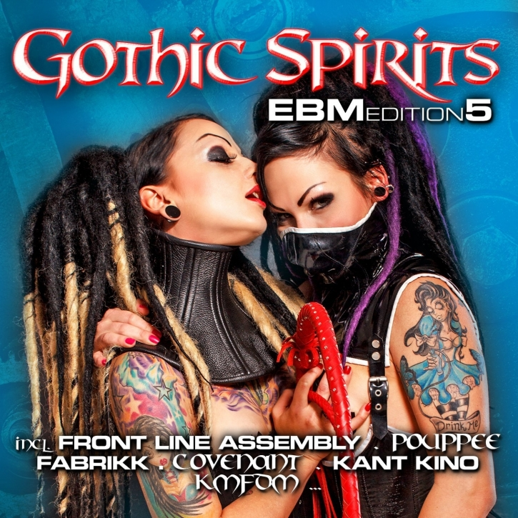 GOTHIC SPIRITS EBM EDITION 5 2CD Covenant KMFDM Mesh FRONT LINE ASSEMBLY