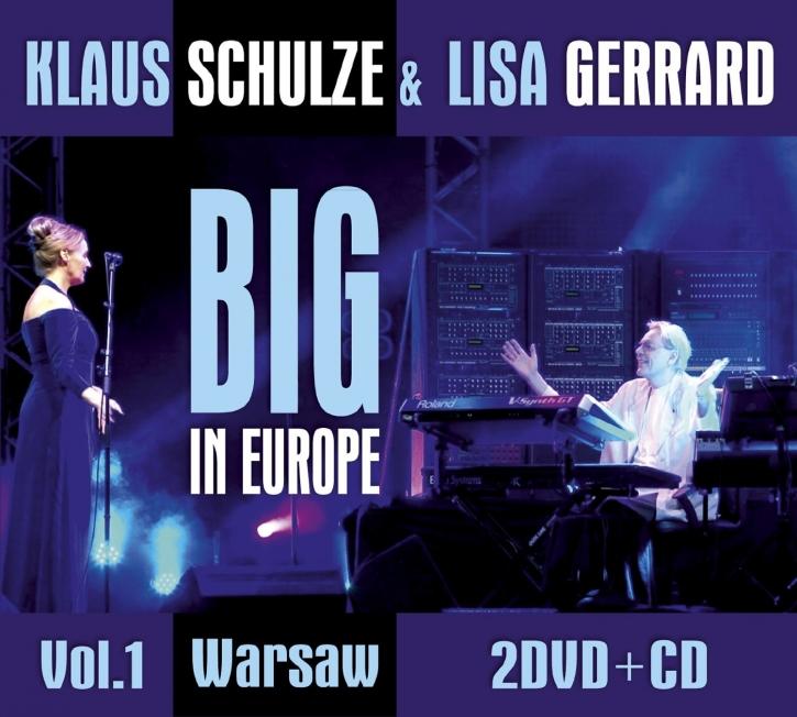 KLAUS SCHULZE & LISA GERRARD Big In Europe Vol.1: Warsaw 2DVD+CD Digipack 2013