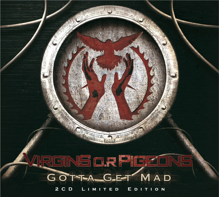 VIRGINS O.R PIGEONS Gotta Get Mad LTD.2CD BOX 2013