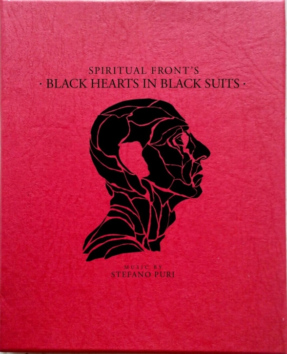 SPIRITUAL FRONT Black Hearts in Black Suits 2CD BOX 2013 LTD.299