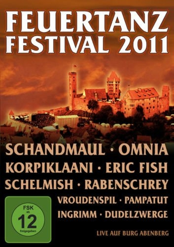 FEUERTANZ FESTIVAL 2011 BLU-RAY Omnia SCHANDMAUL Rabenschrey