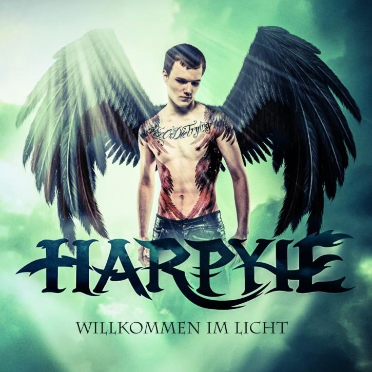 HARPYIE Willkommen Im Licht LIMITED CD Digipack 2013