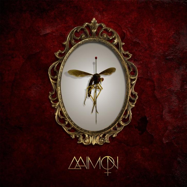 AAIMON Aaimon LP RED/BLACK MIXED VINYL 2014 LTD.100