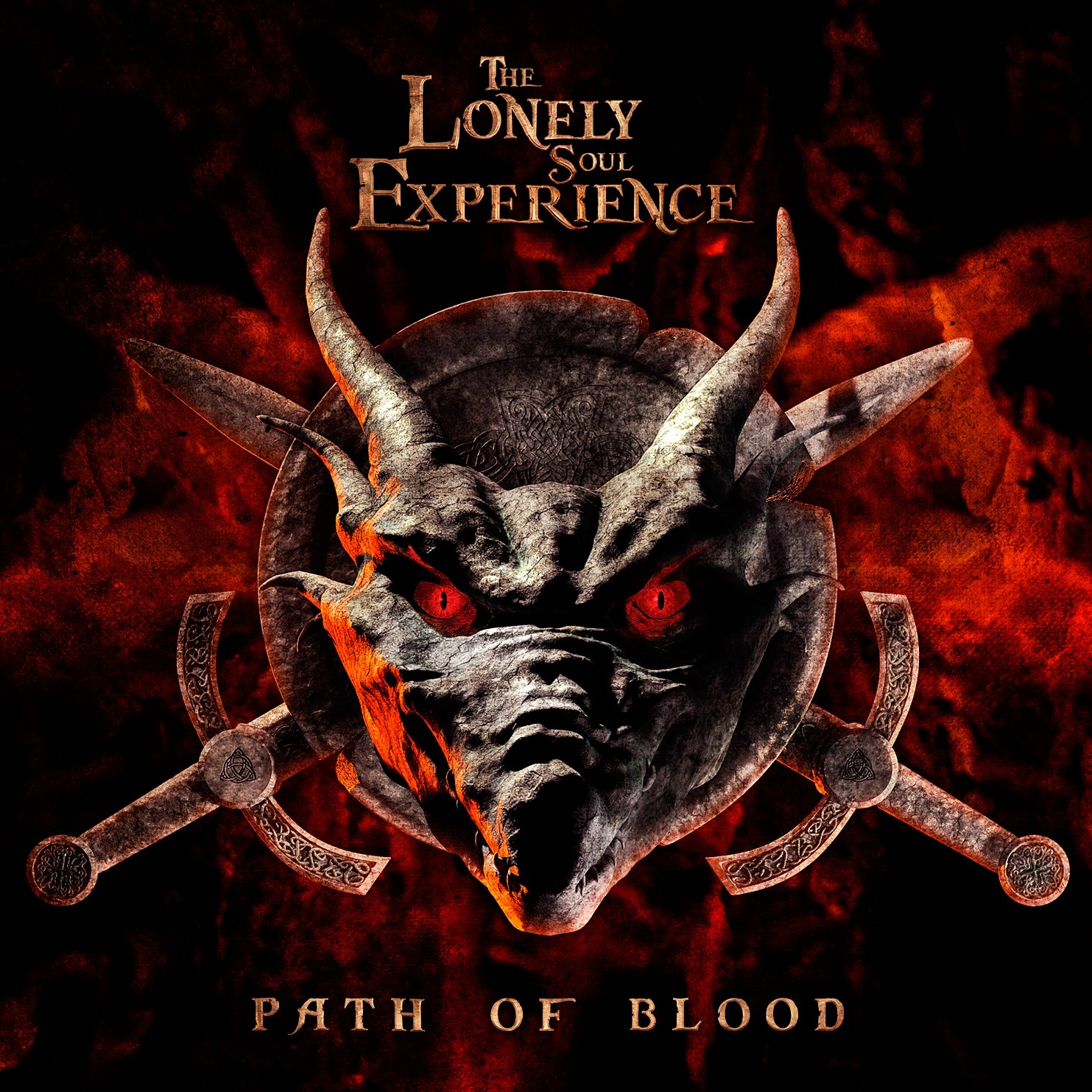 THE LONELY SOUL EXPERIENCE Path Of Blood CD 2014 BLUTENGEL