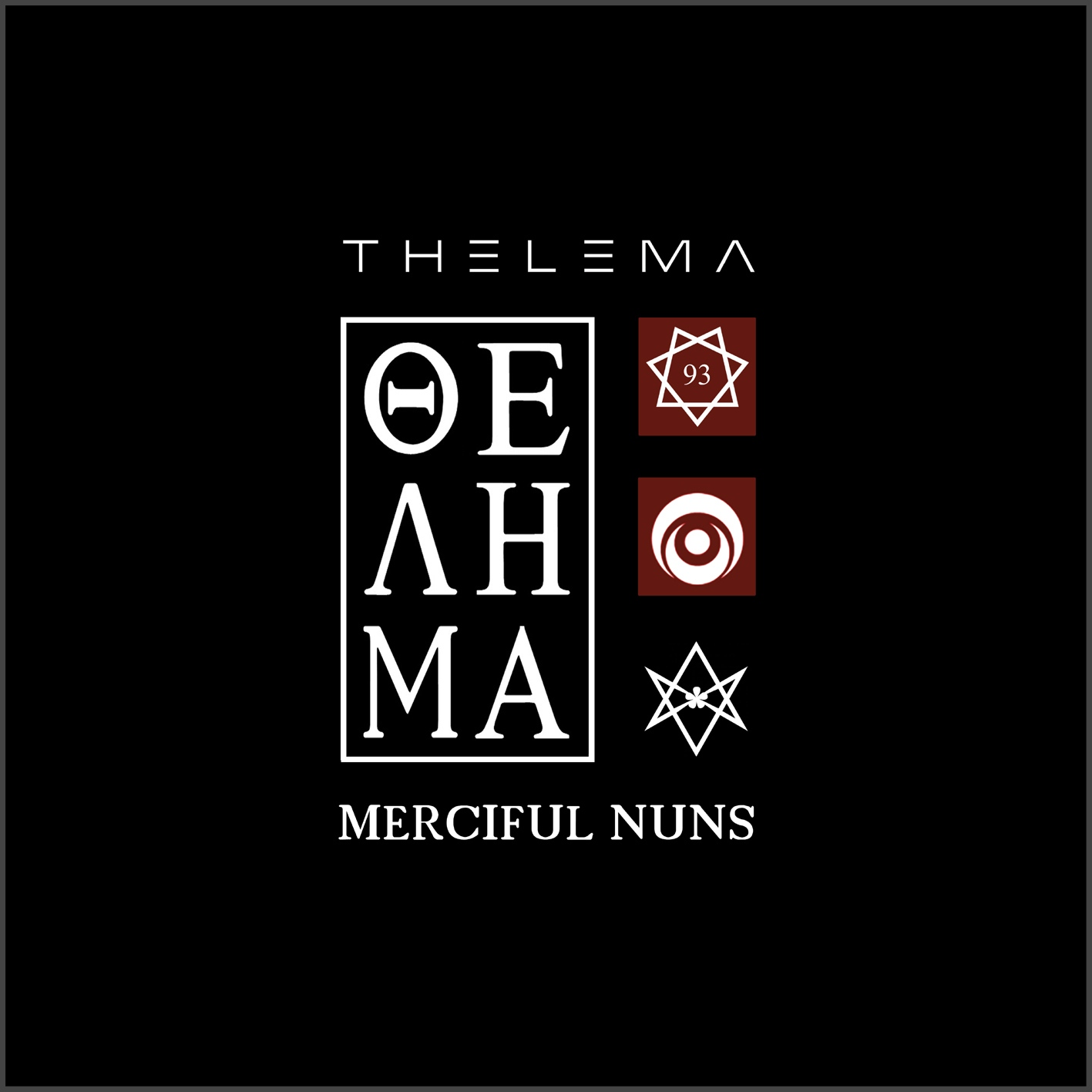 MERCIFUL NUNS Thelema VIII + Allseeing Eye EP LIMITED 2CD 2016