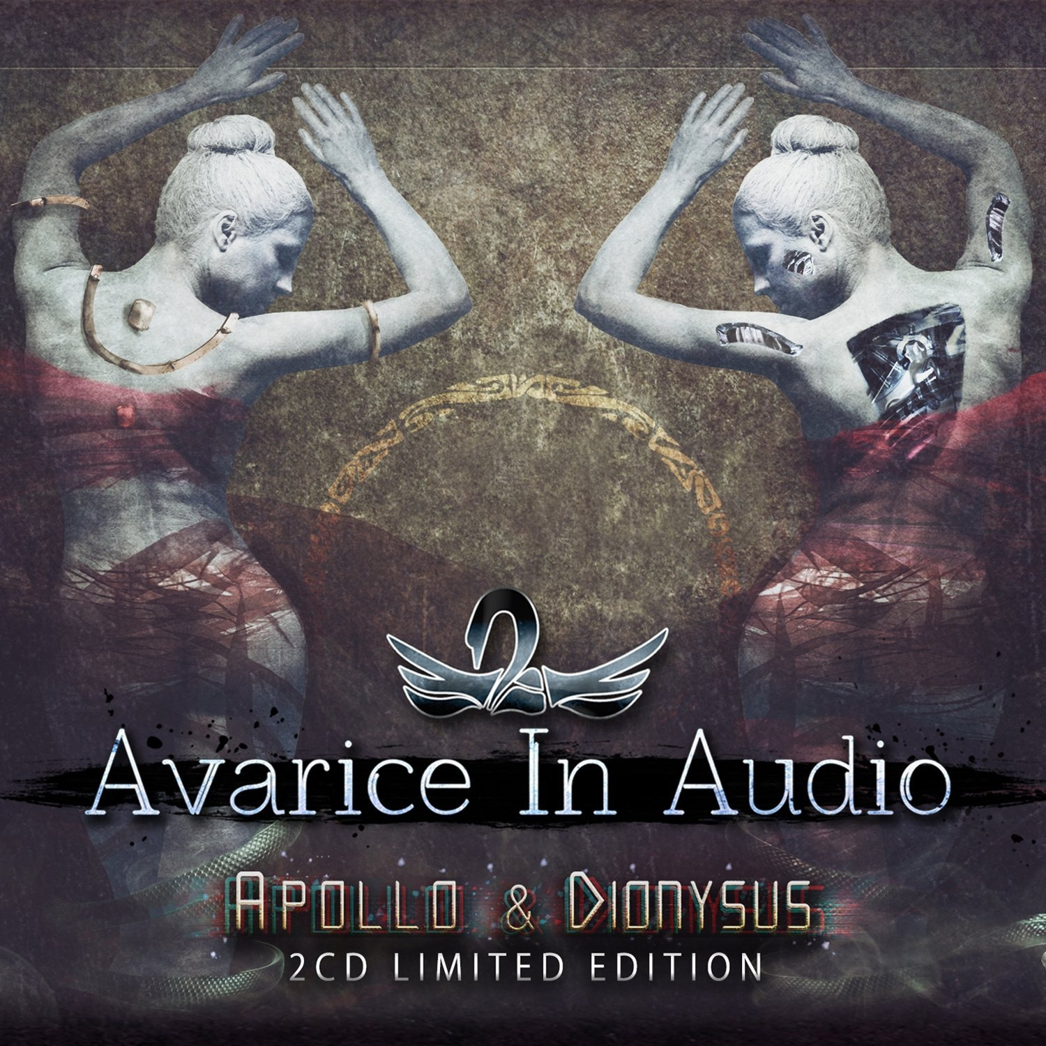 AVARICE IN AUDIO Apollo & Dionysus LIMITED 2CD BOX 2016 (VÖ 18.03)