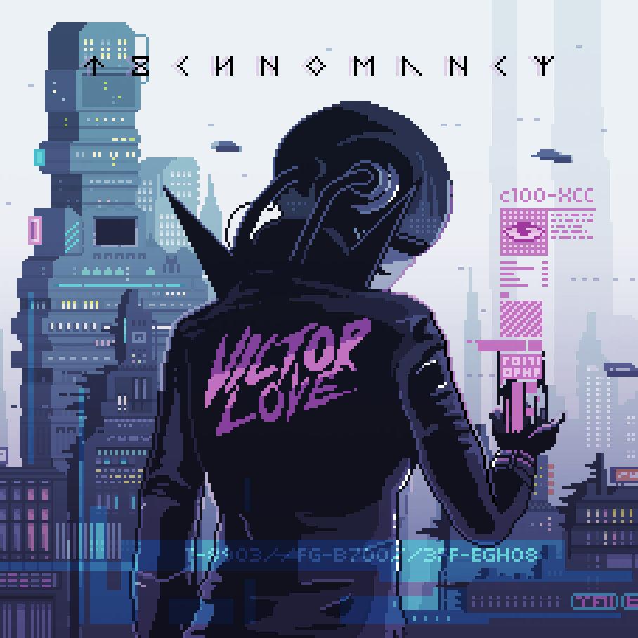 VICTOR LOVE Technomancy CD Digipack 2016 (VÖ 13.05)
