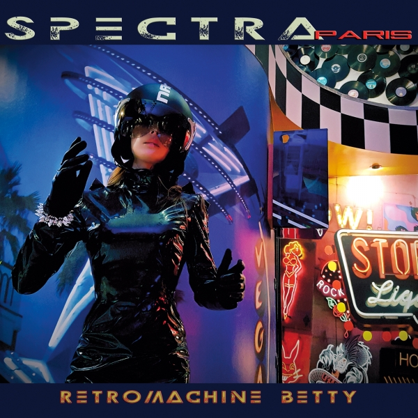 SPECTRA PARIS Retromachine Betty CD Digipack 2017 (VÖ 12.05) KIRLIAN CAMERA