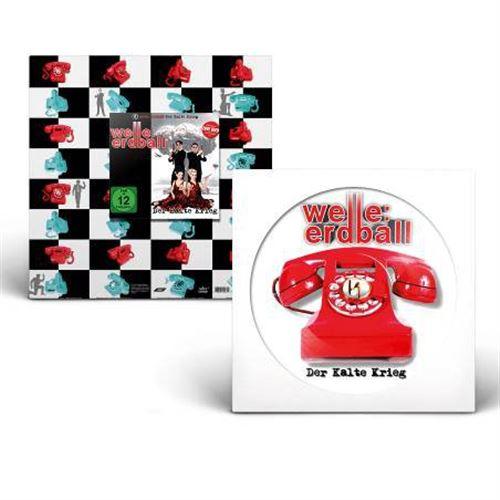 WELLE ERDBALL Der Kalte Krieg LP PICTURE VINYL+CD/DVD 2018 LTD.1000 (VÖ 27.07)