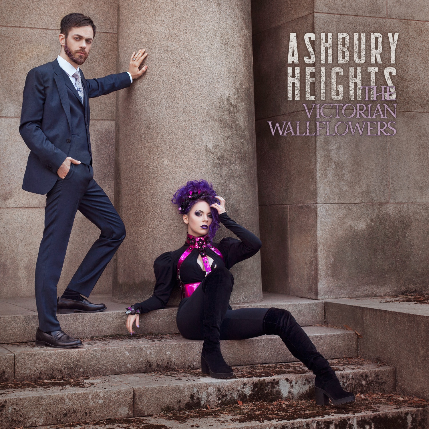 ASHBURY HEIGHTS The Victorian Wallflowers CD 2018 (VÖ 24.08)