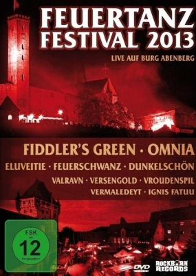 FEUERTANZ FESTIVAL 2013 DVD Feuerschwanz OMNIA Ignis Fatuu FIDDLER'S GREEN