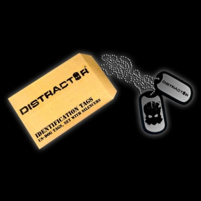 DISTRACTOR Dog-Tag Merchandise 2013