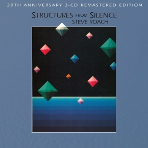 STEVE ROACH Structures from Silence [30th Anniversary Edition] 3CD Digipack 2014
