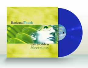 RATIONAL YOUTH To the Goddess Electricity LP BLUE VINYL 2014 LTD.100