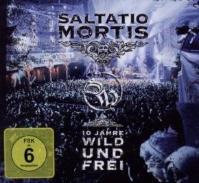 SALTATIO MORTIS 10 Jahre Wild und Frei CD+DVD 2011
