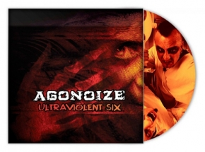 AGONOIZE Ultraviolent Six LP PICTURE VINYL 2012 LTD.666