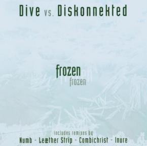 DIVE vs. DISKONNEKTED Frozen CD 2006
