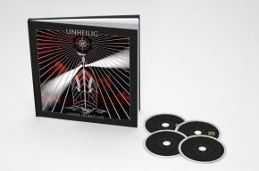 UNHEILIG Grosse Freiheit Live DELUXE FOTOBUCH 2DVD +2CD 2010