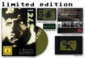 FRONT 242 Moments in Budapest DVD 2010 LTD.4000