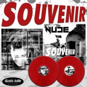 "NUDE / SABOTAGE Souvenir 7"" RED VINYL 2010 LTD.500"
