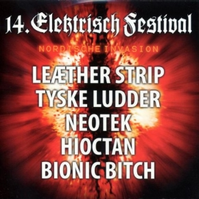 14. ELEKTRISCH FESTIVAL CD LTD.1000 Feindflug LEAETHER STRIP