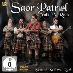 SAOR PATROL Folk 'N' Rock: Live DVD 2014