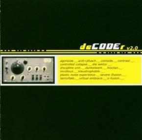 DECODER 2 CD Agonoize ARZT+PFUSCH Coinside X-FUSION