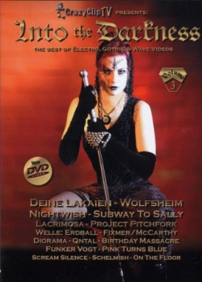INTO THE DARKNESS VOL.3 DVD Welle Erdball DEINE LAKAIEN
