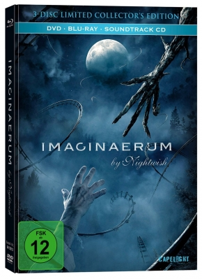 Imaginaerum by NIGHTWISH (Limited Mediabook / DVD + Blu-ray + Soundtrack CD) 2013