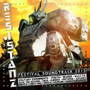 RESISTANZ Festival 2015 CD Digipack LTD.200 SOLITARY EXPERIMENTS 3TEETH