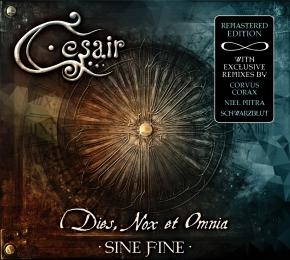 CESAIR Dies, Nox et Omnia: Sine Fine CD Digipack 2015 Corvus Corax FAUN