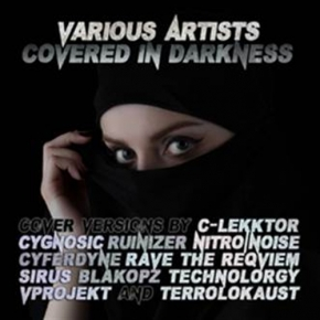 Covered In Darkness CD 2015 LTD.300 RAVE THE REQVIEM Cygnosic TERROLOKAUST