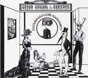 KATZENJAMMER KABARETT Grand Guignol & Varietes CD Digipack 2009