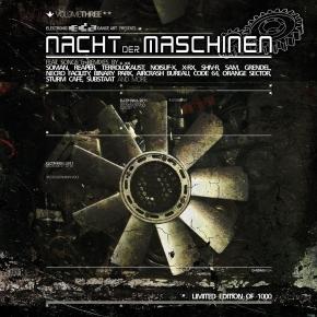 NACHT DER MASCHINEN VOL.3 CD GRENDEL Eisenfunk SOMAN Reaper XP8
