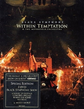 WITHIN TEMPTATION Black Symphony 2DVD 2008