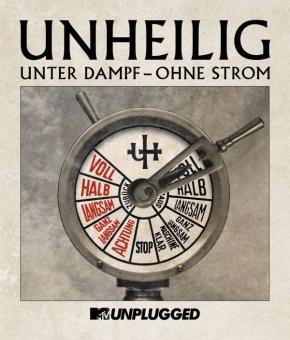 "UNHEILIG MTV Unplugged ""Unter Dampf - Ohne Strom"" BLU-RAY 2015"