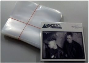 100 CD Schutzhüllen CD + Leerbox Digipack