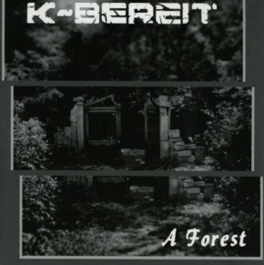 "K-BEREIT A Forest 7"" RED VINYL 2014 LTD.300"