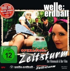 WELLE ERDBALL Operation Zeitsturm DVD+CD 2010